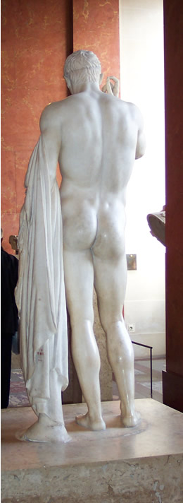Greek statue at the Louvre