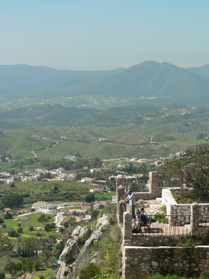View of landscape from Mijas