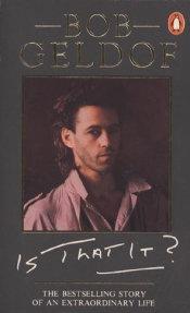 Bob Geldof: Is That It? cover