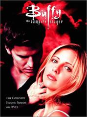 Buffy the Vampire Slayer Season 2 DVD cover