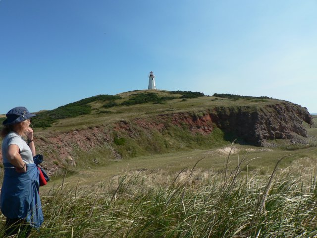 Lighthouse on Ile Brion