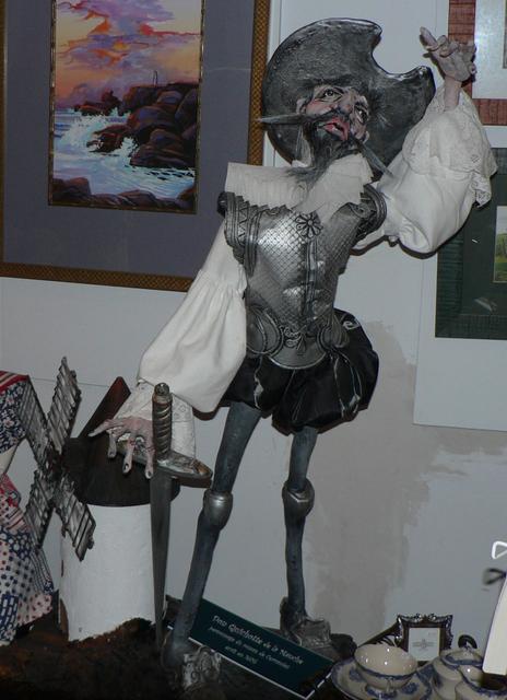 Don Quixote figure