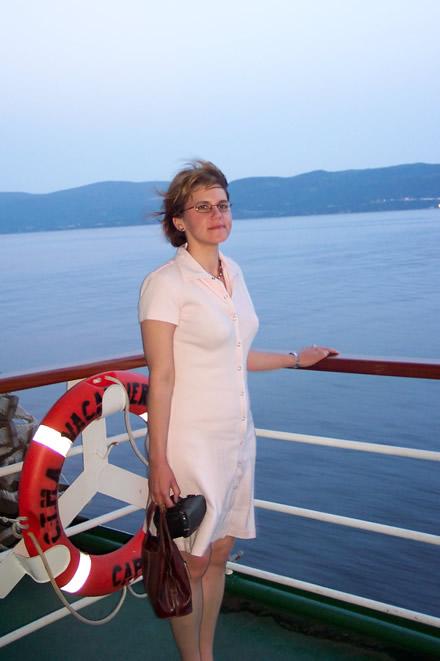On cruise ship