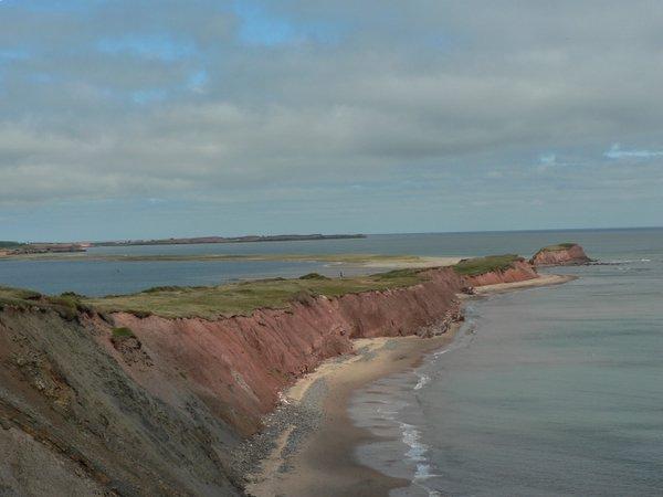 Sandy shore of Ile Boudreau