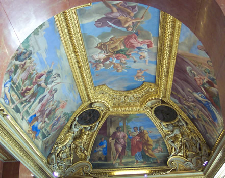 Ceiling of the Louvre